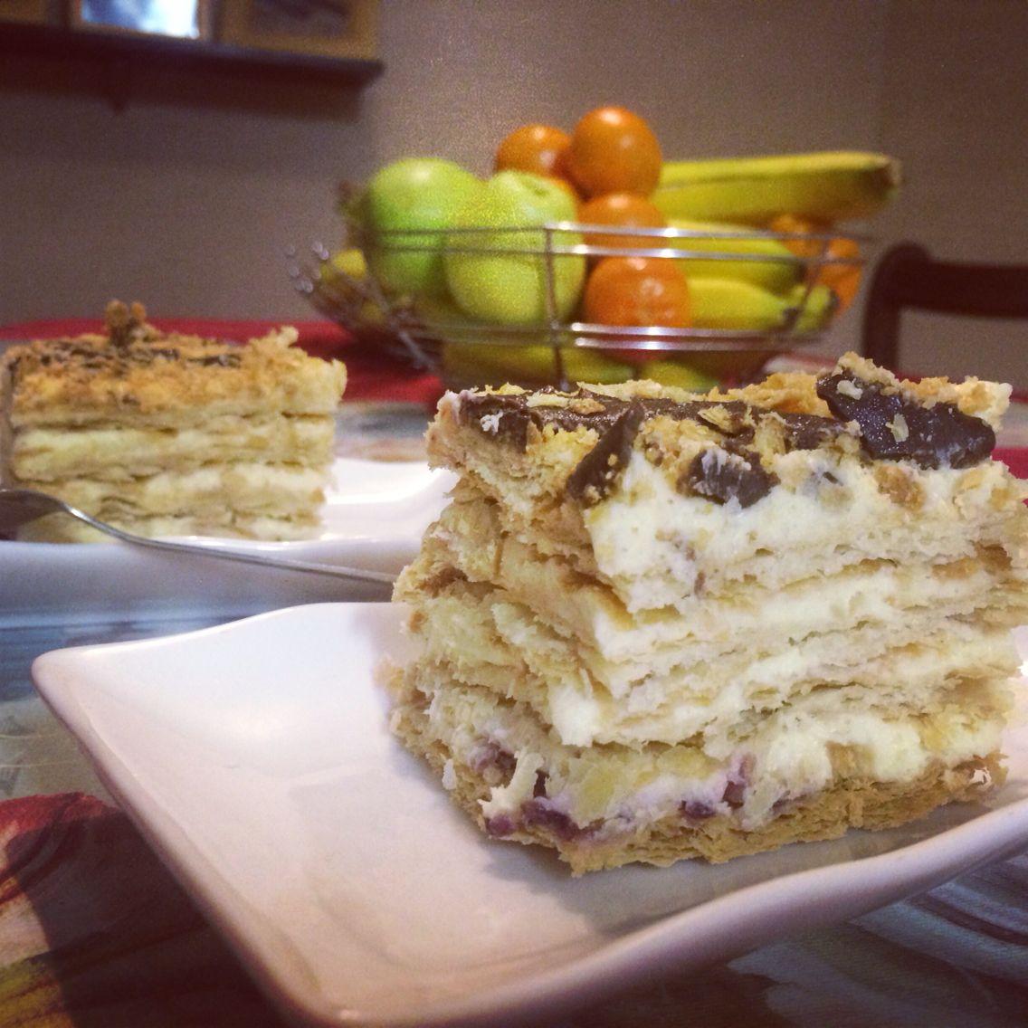 Napoleons cake
