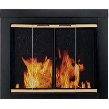 Home Improvement Fireplace Doors Fireplace Glass Doors Fireplace Screens