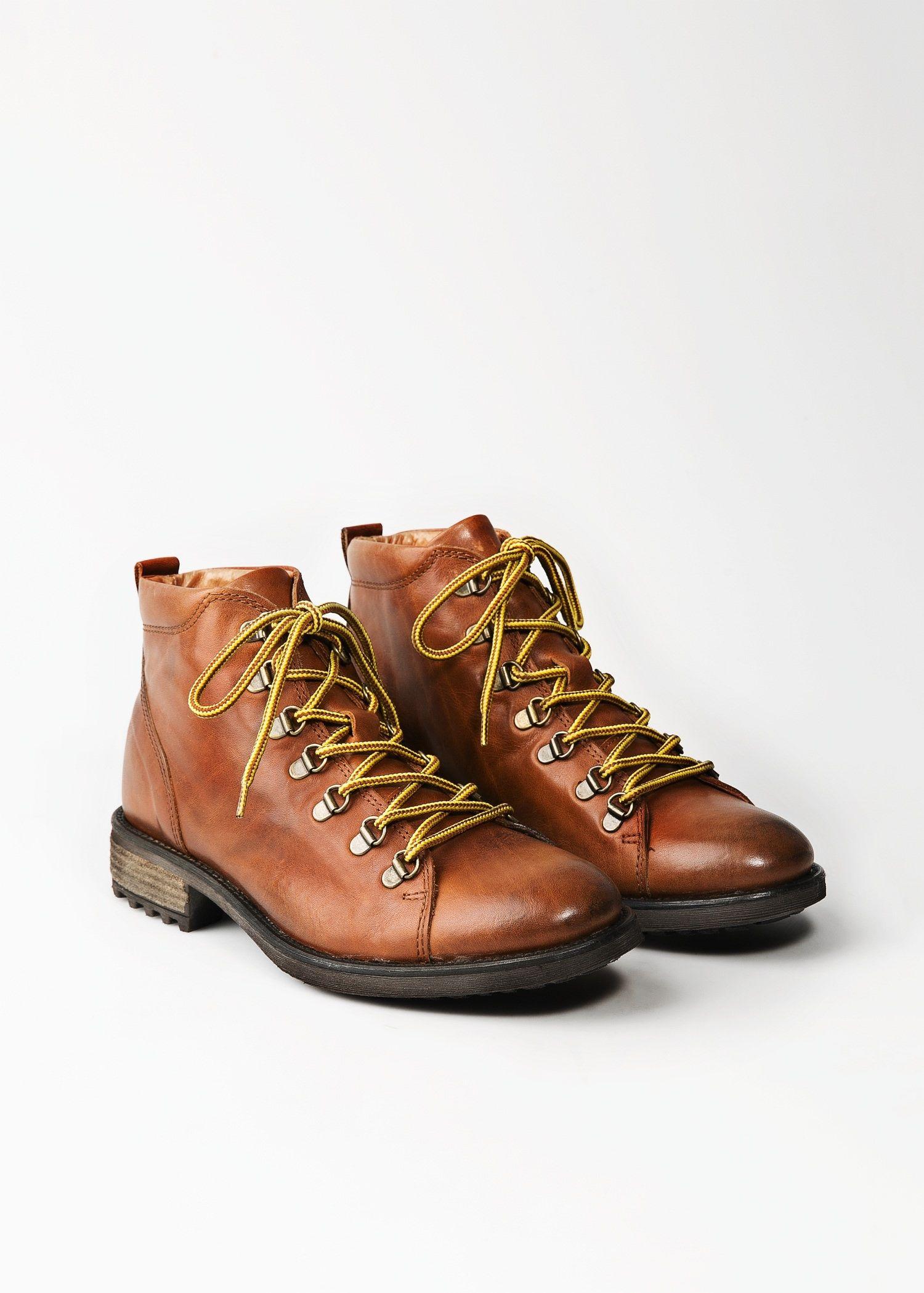 Skorzane Polbuty Worker Mezczyzna Mango Man Polska Worker Boots Boots Shoe Boots