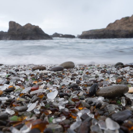 Beaches to Find Sea Glass in Oregon