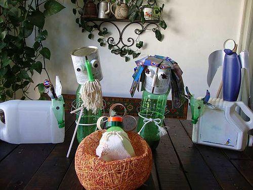 Recycle Christmas Nativity - Pesebre navideño hecho con material de desecho