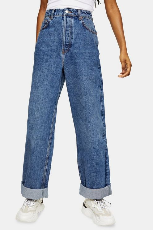 CONSIDERED Topshop One Oversized Mom Tapered Jeans