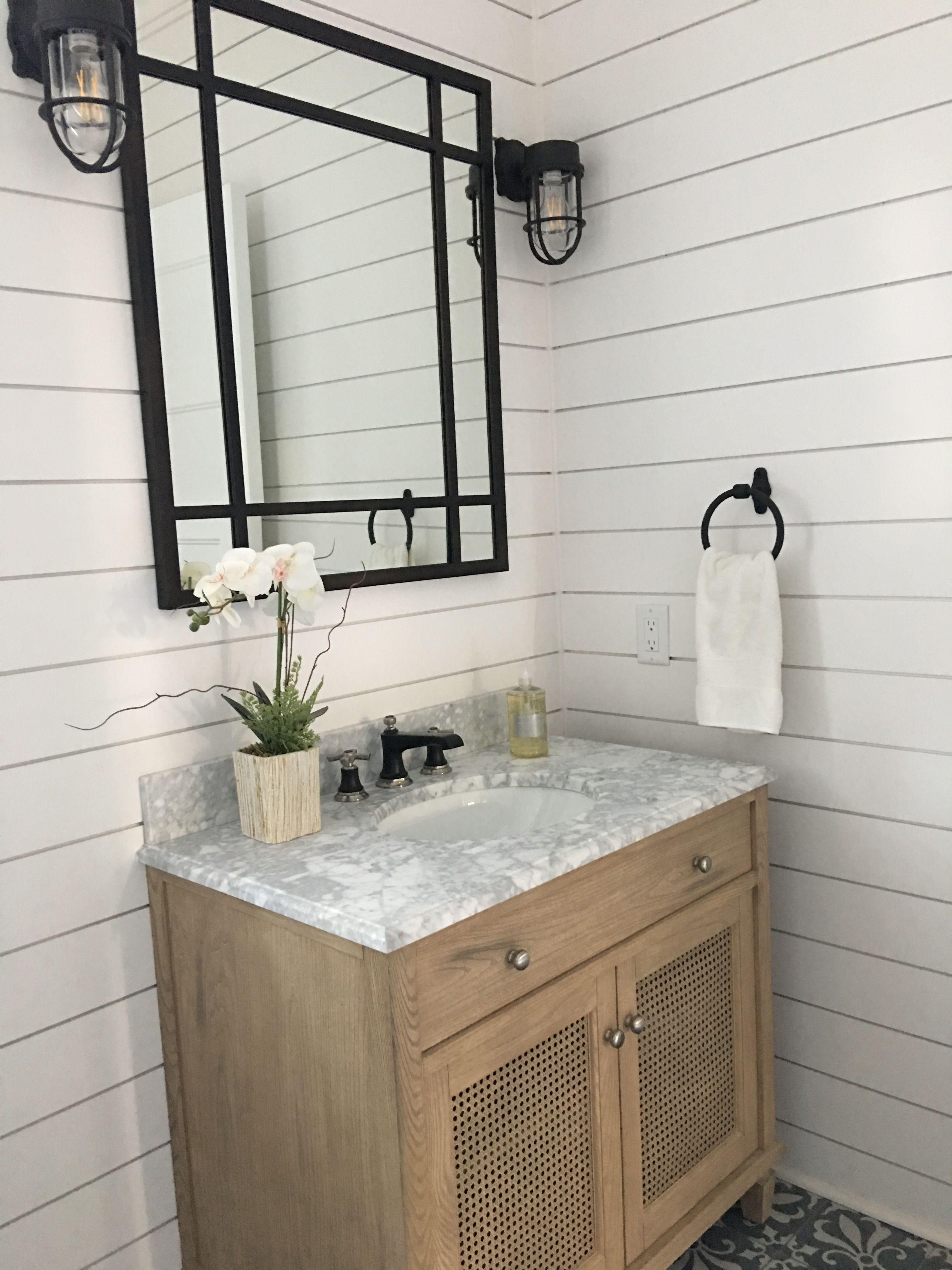 Pottery barn and Rejuvenation bathroom Mirror: https://www ...