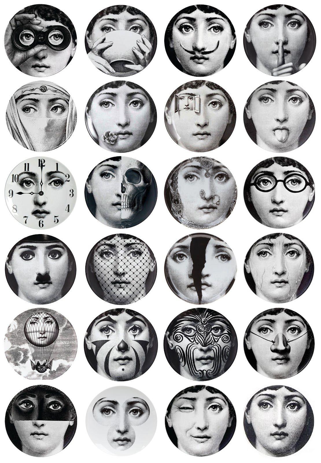 Piero Fornasetti Was Born During In Milan And As An Artistic - Piero fornasetti wallpaper designs