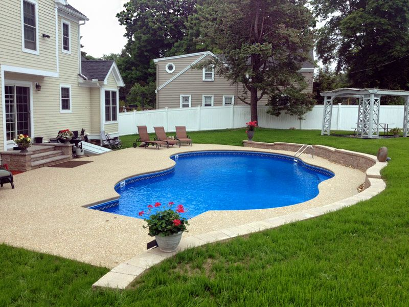Gemini With 8 Ft Steps Too Squared Pool Photos Pool Vinyl Swimming Pool