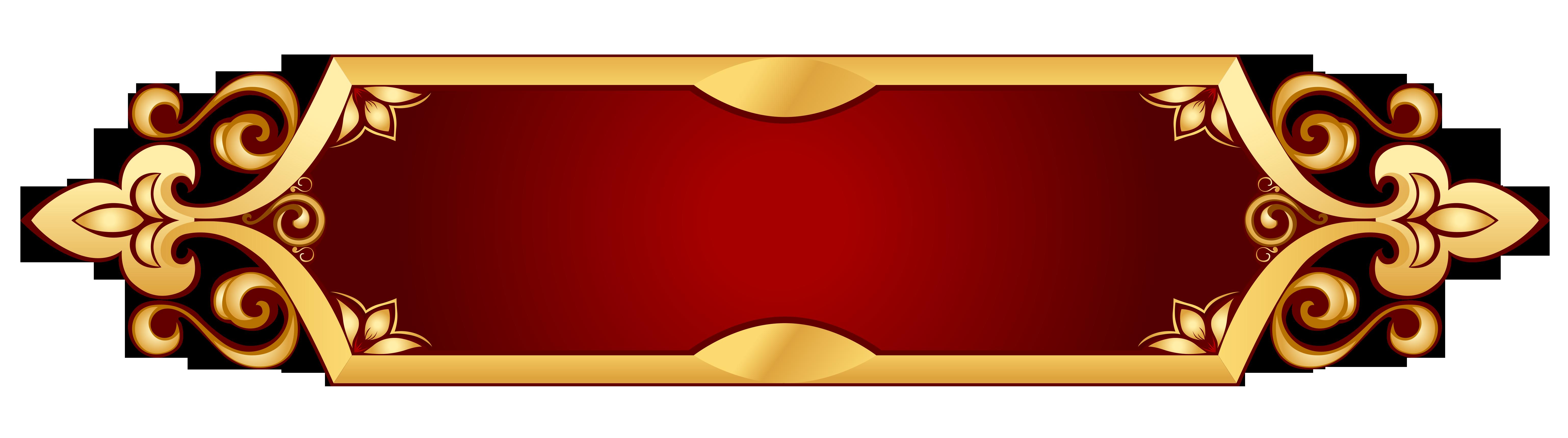 Decorative Banner Transparent Png Picture Banner Background Images Banner Clip Art Frames Borders
