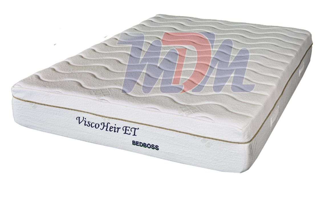 bed boss memory foam mattress all sizes visco heir et model
