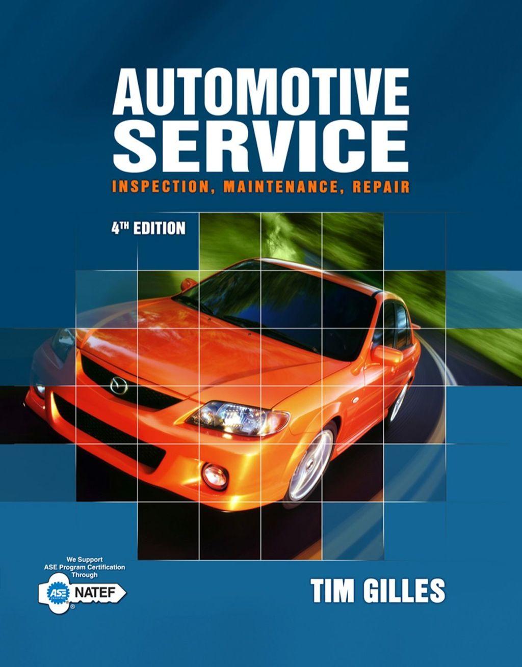 Automotive Service Inspection Maintenance Repair Ebook