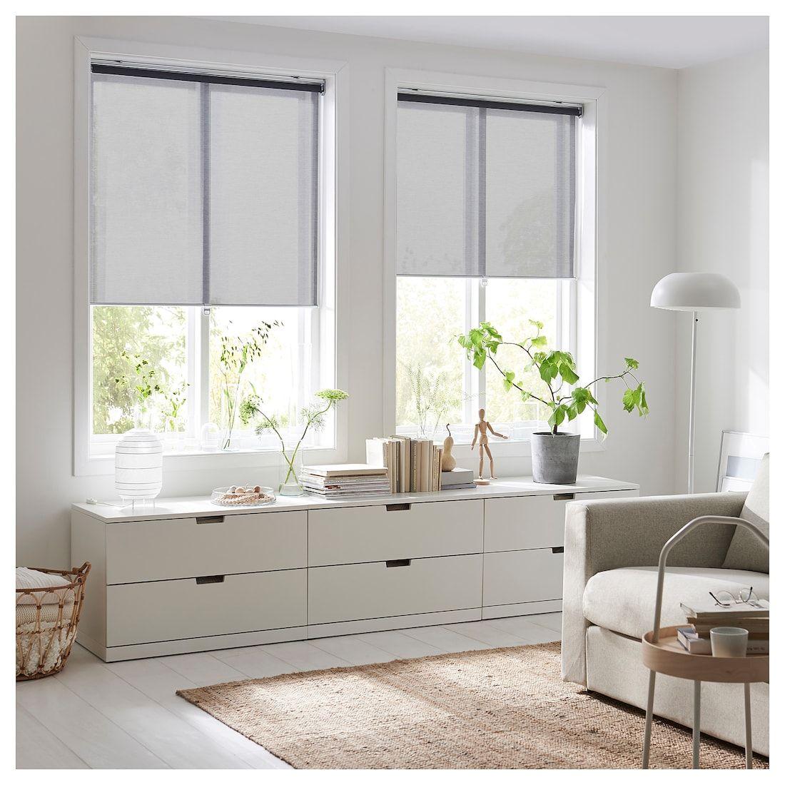 Store Bateau Blanc Ikea ikea skogsklover gray roller blind in 2020 | roller blinds