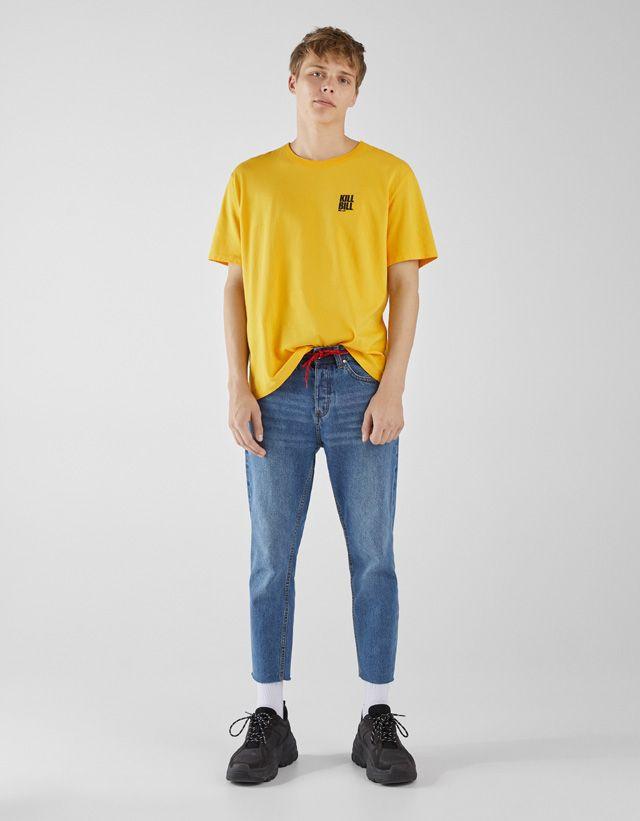 5e883dec01 Kill Bill T-shirt - Bershka  fashion  product  printed  print  estampado   licencias  brands  collaborations  pop  popculture  movies  music  trend   trendy ...