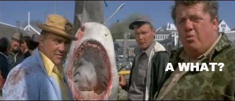 Image result for a what jaws gif