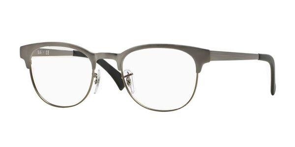 bd33e1cc67 Ray Ban RX6317 Glasses - MATTE GUNMETAL 2834 - Glasses 123