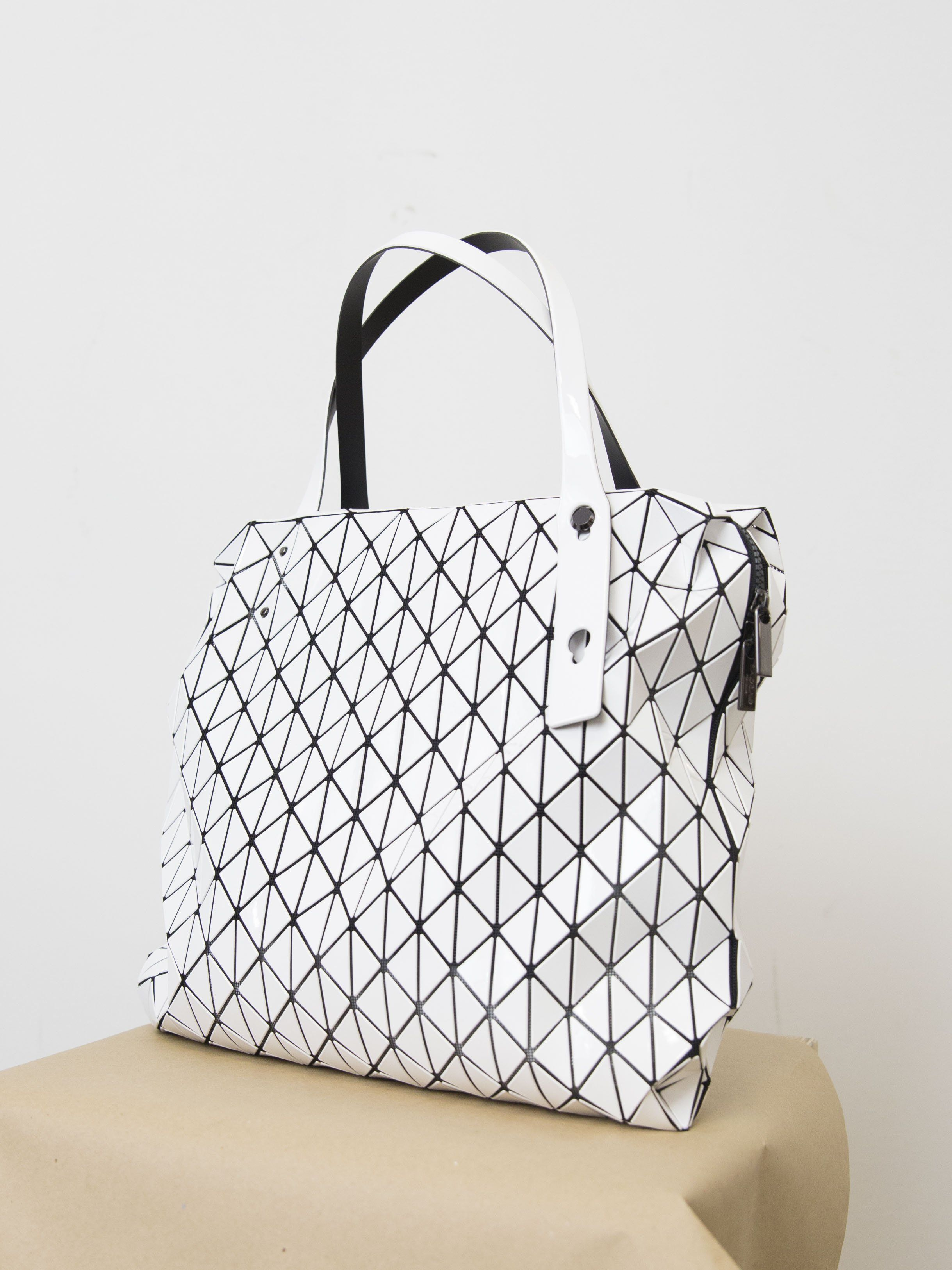 2a30c9f971aa BAO BAO ISSEY MIYAKE Row Gloss Shoulder Bag