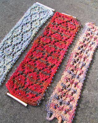 Crochet Beaded Cuff Bracelet Pattern Free Crochet Patterns