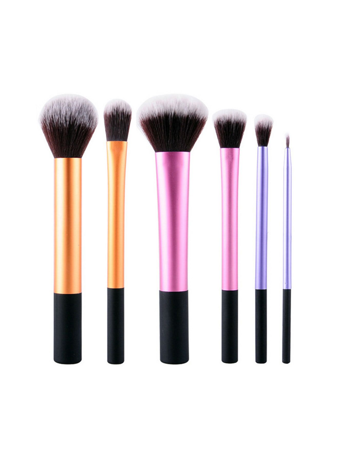 1a51ebae90 Shop Professional Makeup Brush Set 6pcs online. SheIn offers Professional  Makeup Brush Set 6pcs & more to fit your fashionable needs.