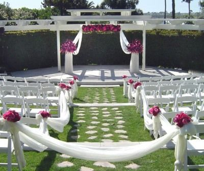Outdoor Wedding Altar Ideas | Decorations For Outdoor Wedding ...