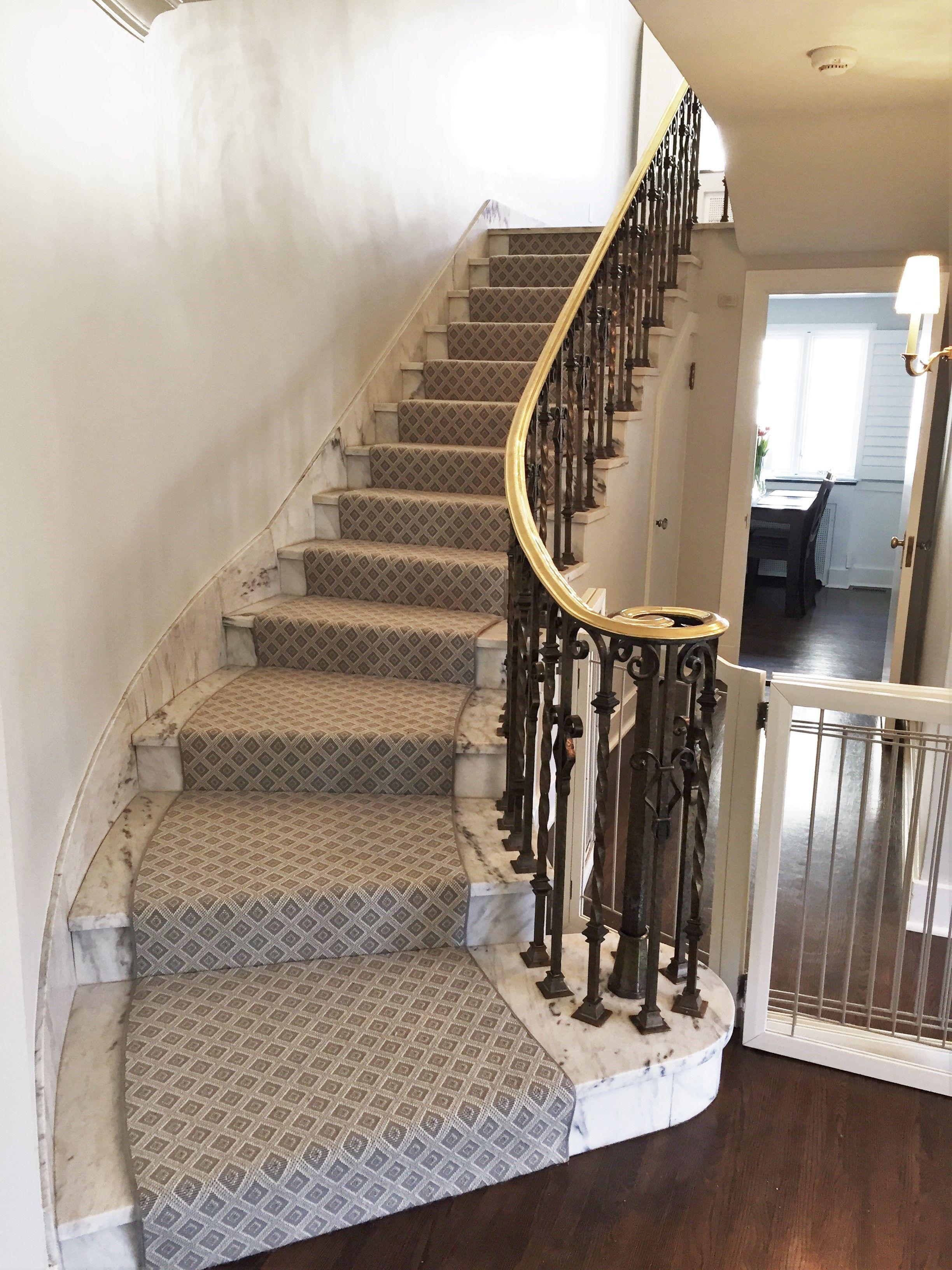 Superior Custom Stark Carpet Stair Runner In Adalie, Shadow. Shadyside, PA. 2016