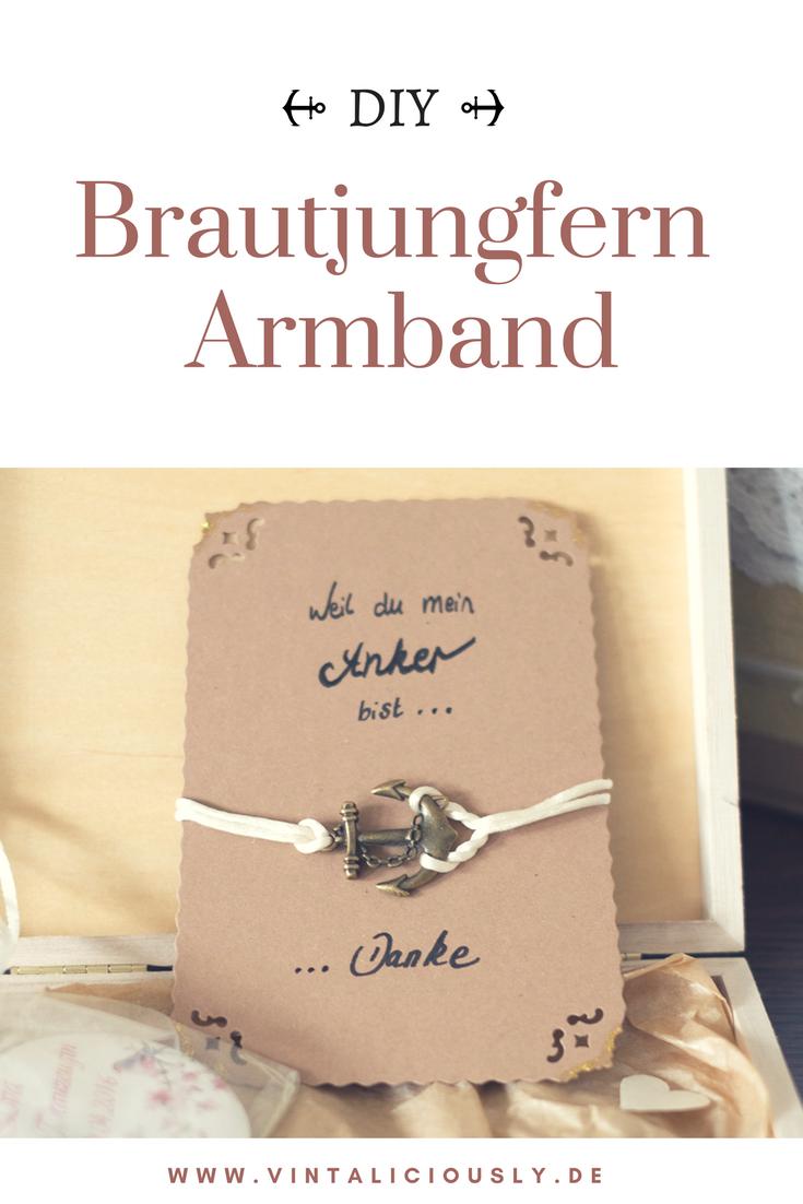 Brautjungfern Dankeschön | Pinterest | Brautjungfer armband ...