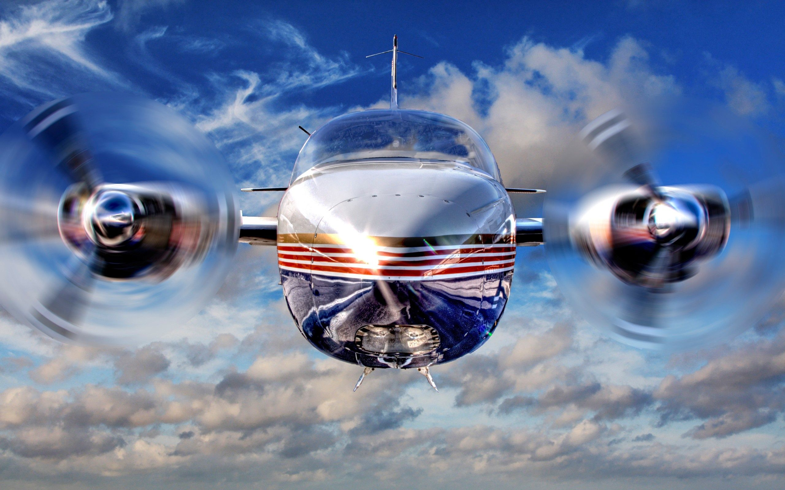 Wide World Propeller Jet Airplane Wallpapers Pictures Photos