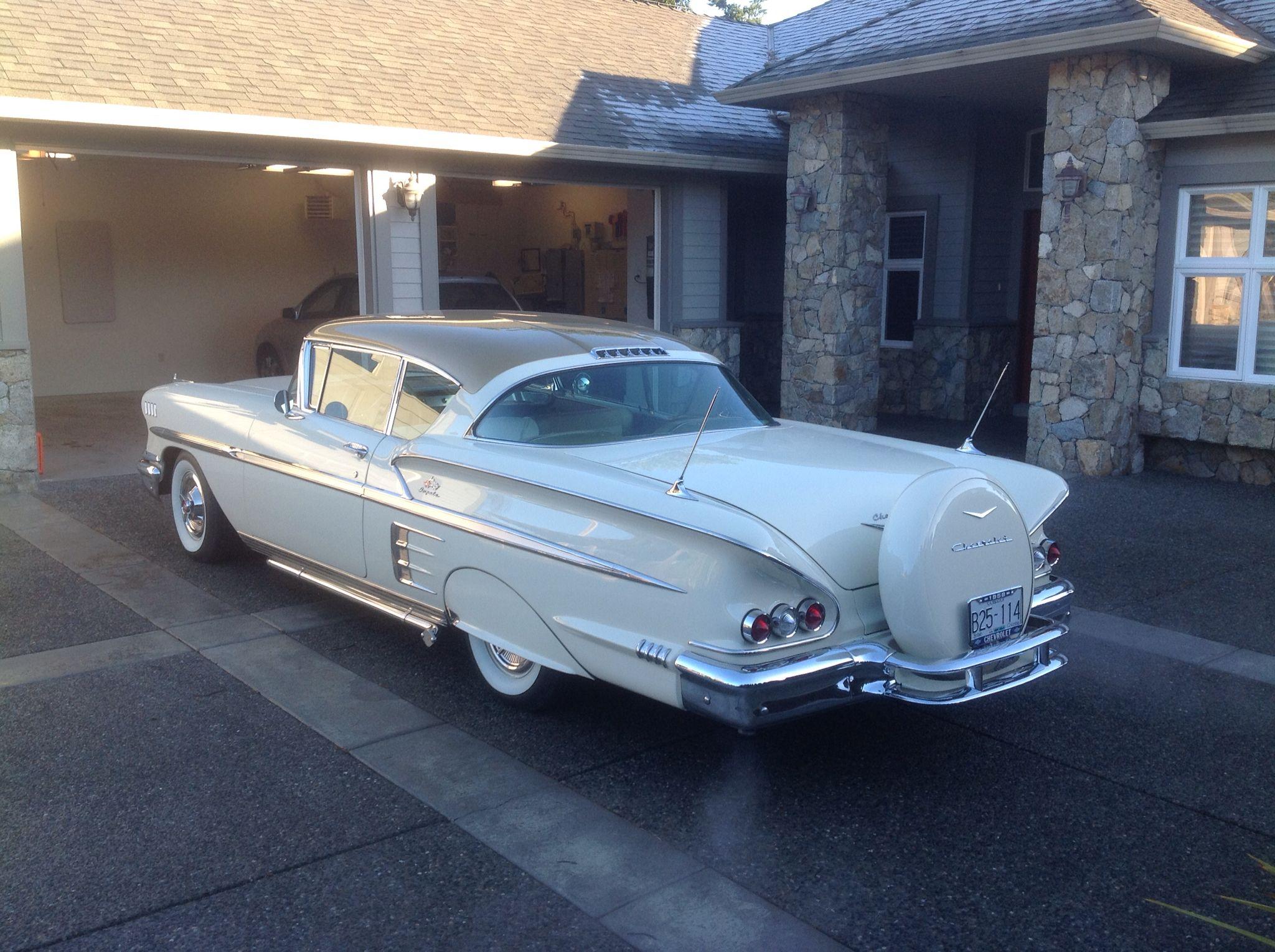 1958 Impala 1 Of 120 This Color 4 Wheel Disc Brakes 350 Ram Jet