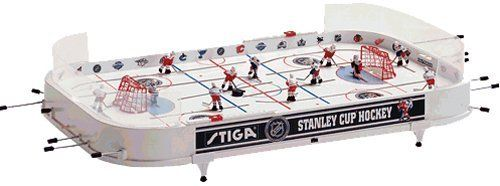 Nhl Stanley Cup Hockey Table Game Ny Rangers Boston Bruins By Stiga 102 82 All Players Are 3 Dimensional And Wear The Uniforms Of Hockey Stanley Cup Nhl