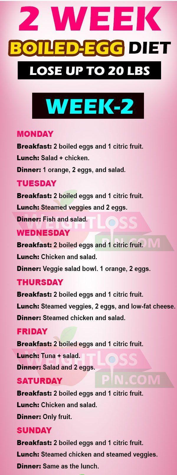 Photo of Diät mit gekochtem Ei zum Abnehmen von bis zu 20 Pfund in 2 Wochen – FitnessPX