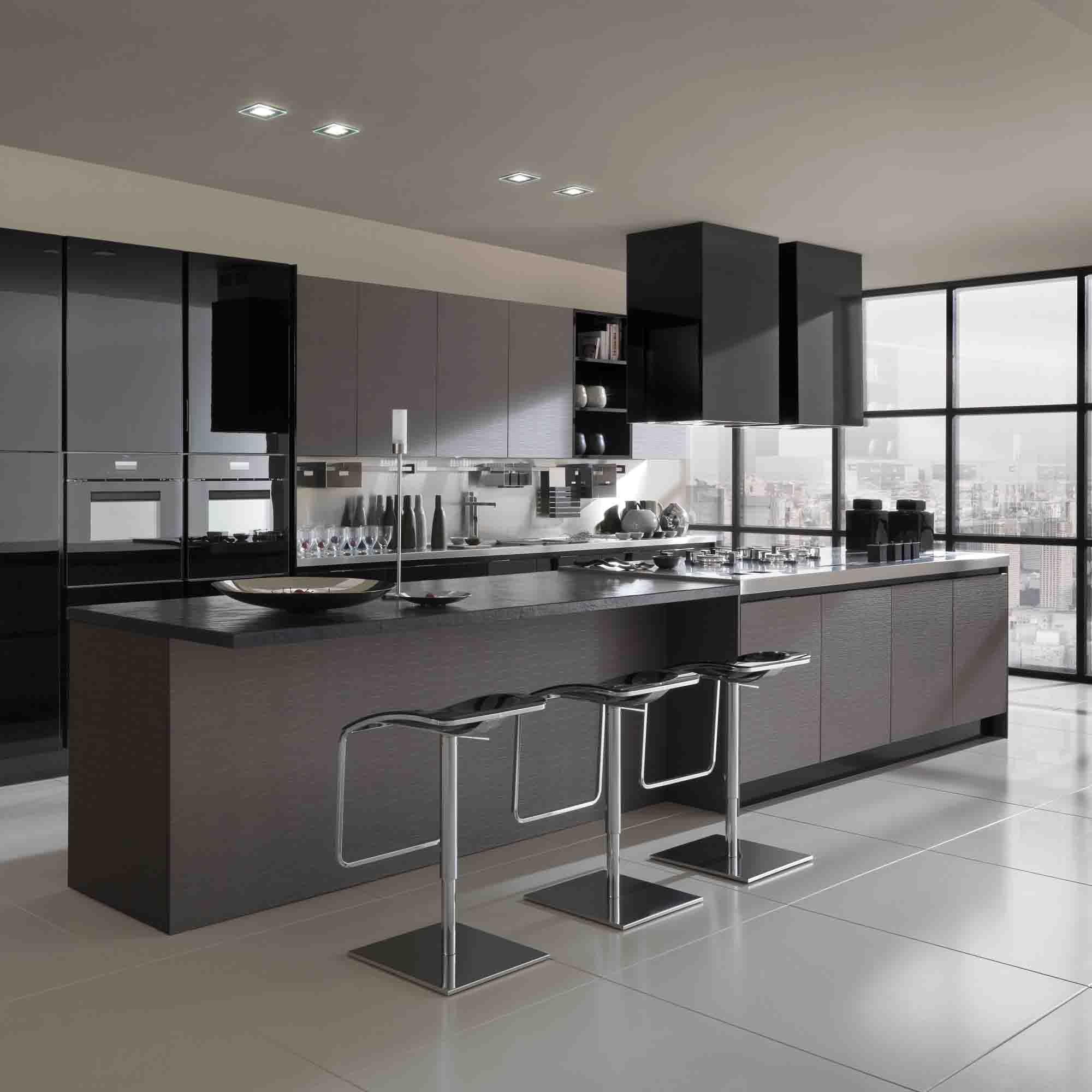 cocina con desayunador | arquitecturas | Pinterest | Kitchens ...