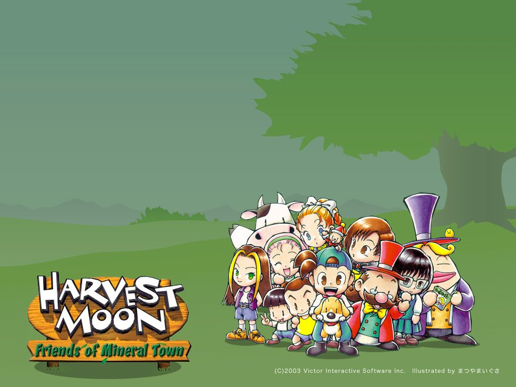 Harvest Moon Friends Of Mineral Town Harvest Moon Animal Parade Games
