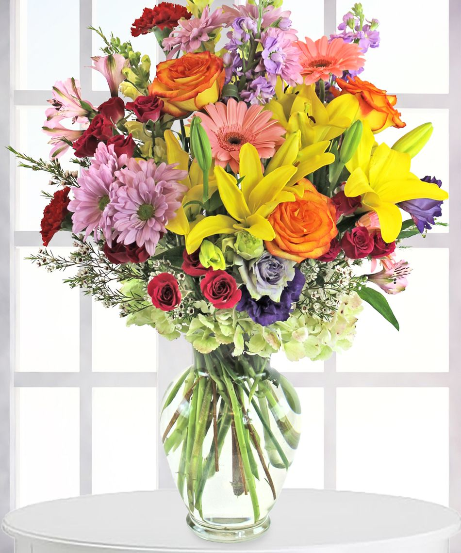 Bright floral arrangements google search rww pinterest flower stores in colorado springs mightylinksfo