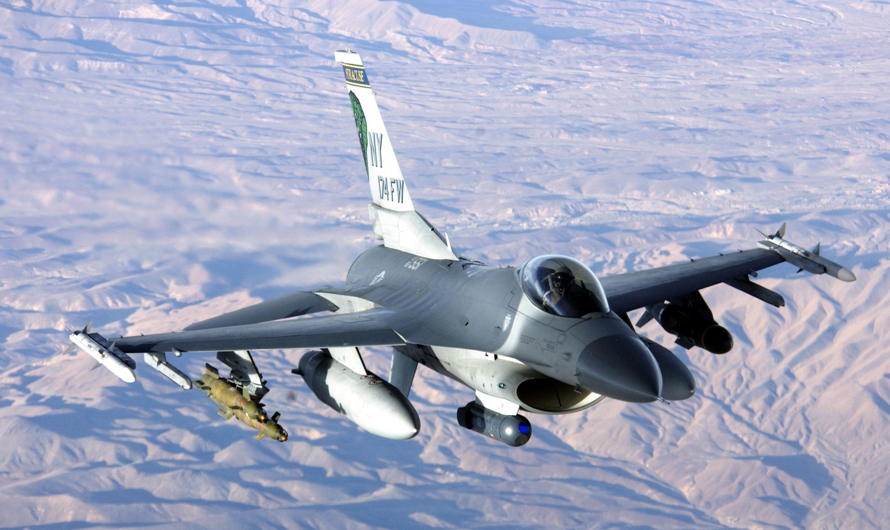 F16CM Fighting Falcon United States Air Force, Korea