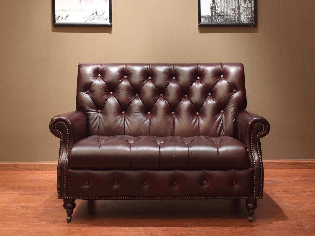 Classic Leather Sofa Singapore Locus Habitat Vintage