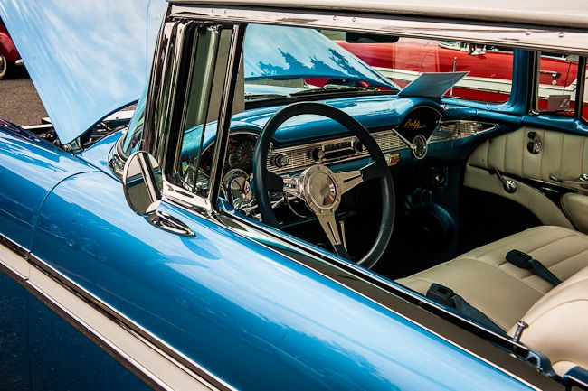 Chevy Bel Air Interior Classic Cars Pinterest Bel