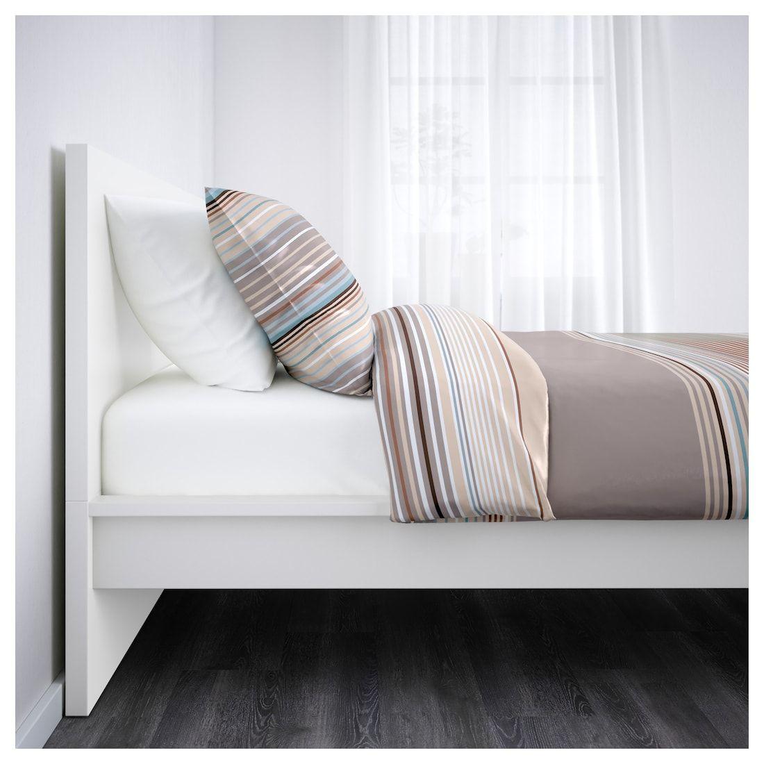 Malm Bettgestell Hoch Weiss Ikea Deutschland Verstellbare Betten Bettgestell Bett Ideen