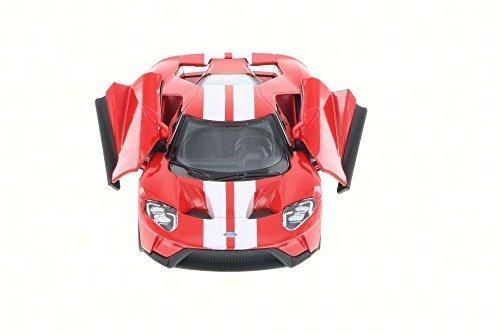 2017 Ford Gt Red Kinsmart 5391df 138 Scale Diecast Model Toy