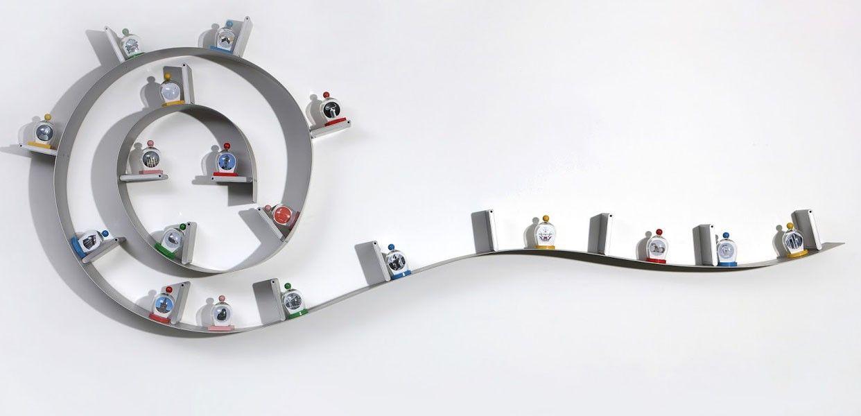 Kartell Bookworm Bookshelf by Ron Arad | Kartell Furniture | Pinterest