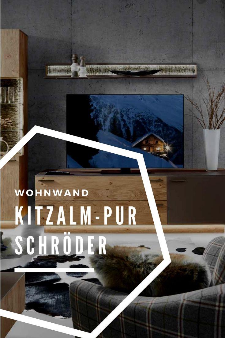 Kitzalm Pur Von Schröder Wohnwand K007 Kernwildasteiche Terra In