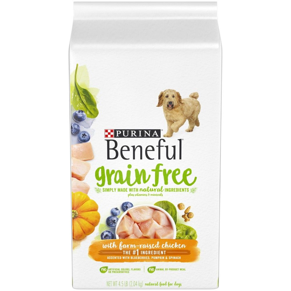 Purina Beneful Grain Free Natural Dry Dog Food Grain Free With
