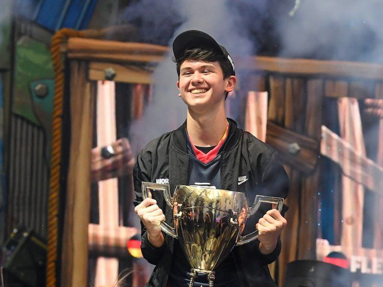 This 16 Year Old Gamer Is 3 Million Richer After Winning The Fortnite World Cup Video Game Tournaments Online Video Games World Cup