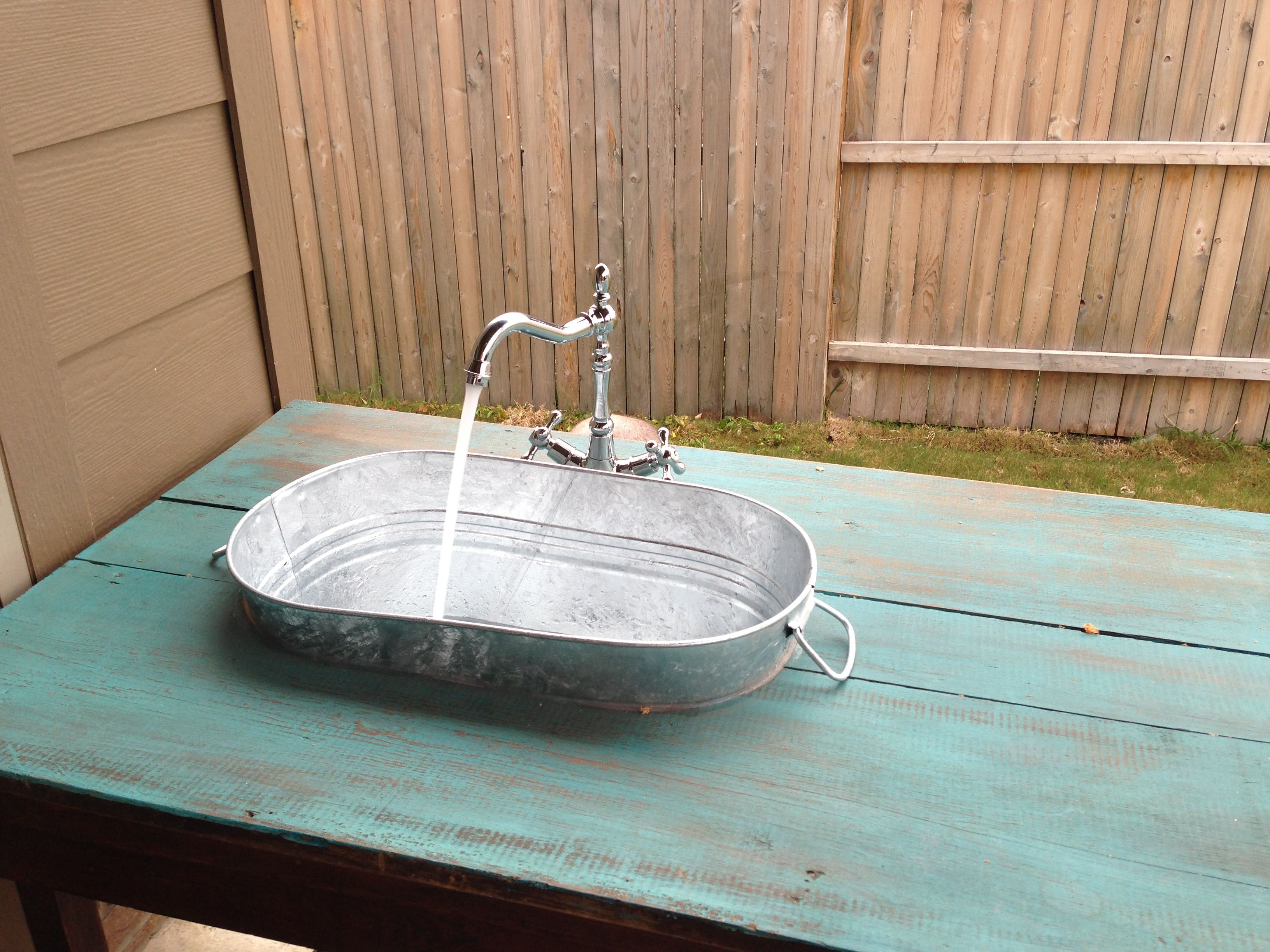 Pin By Tricia Williams On Craftiness Outdoor Sinks Diy Outdoor