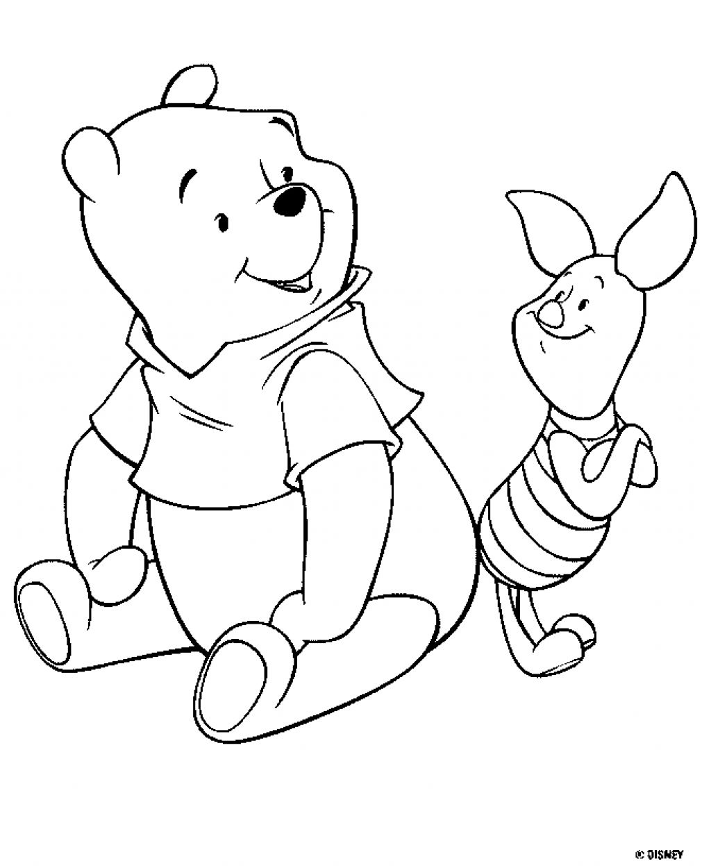 Winnie The Pooh Original Pages winnie the pooh coloring | ‧ reading ...