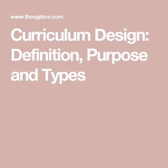 How to Develop Effective Curriculum Design   Pbl