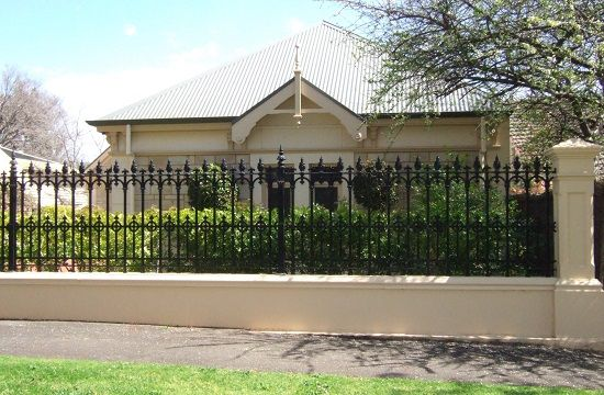 Traditional Wrought Iron Fence Styles | iron work | Pinterest ...