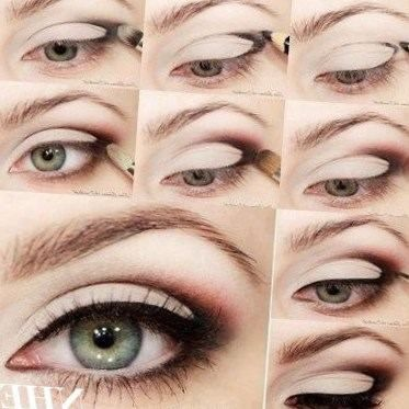 Tuto maquillage yeux verts cheveux beaut - Maquillage yeux verts tuto ...