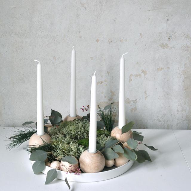 #adventskranz #eukalyptus #weihnachten #scandistyle #gemütlicheweihnachten