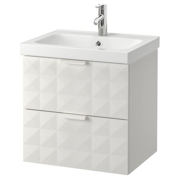 Ikea Godmorgon Odensvik Resjon White Dalskar Faucet Sink