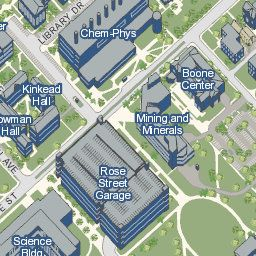 University of Kentucky Official Campus Map college