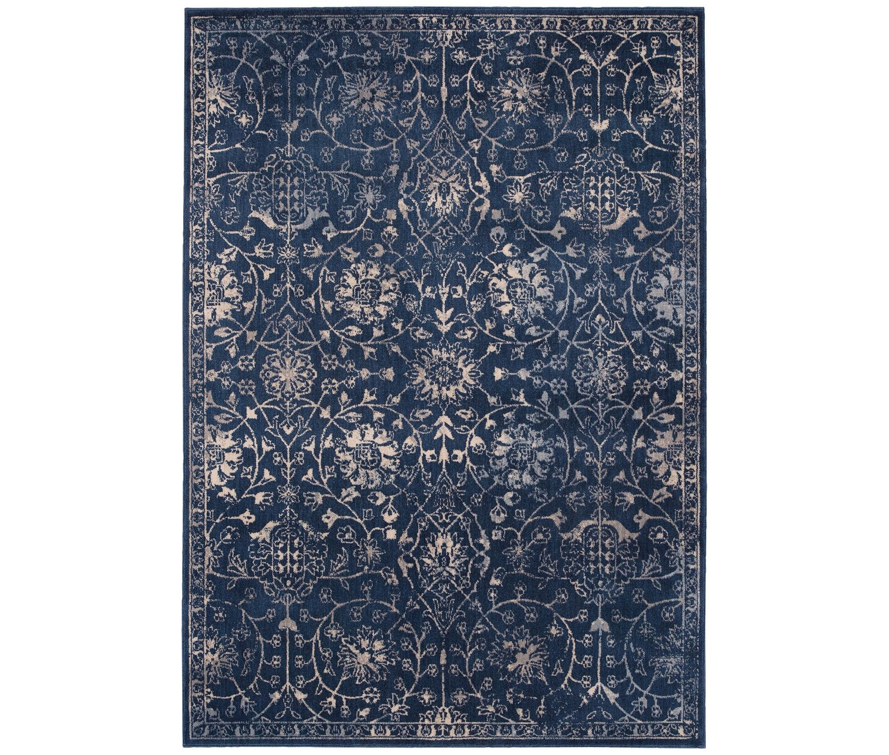 Kelly Ripa Home Origin KRH10 Navy Area Rugs Only At Macys