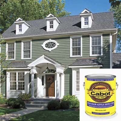 Solid Color Stains Mimic The Earance Of Flat Oil Based Paints Used Since Colonial Times