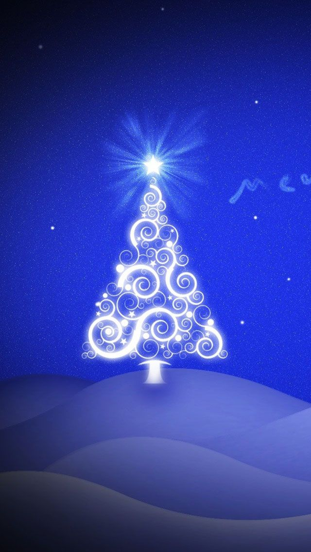 Christmas Hd Wallpaper For Iphone Frases De Navidad Navidad Vintage Navidad Arbol de navidad azul wallpaper