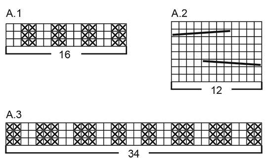 El conjunto se compone de  Gorro y bufanda de punto para niño con trenzas. Talla  2 - 10 años El conjunto está realizado en DROPS Air. a96651880fc